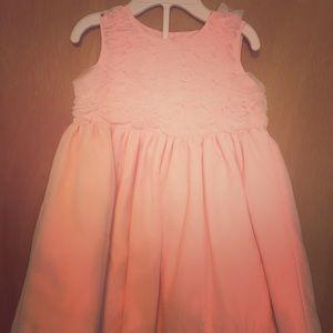 2T pink dress